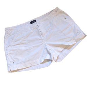 Nautica white swim shorts, medium